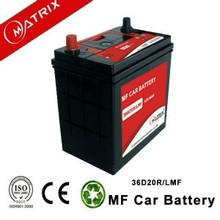 12v 36AH cheap mf lead calcium ns40zl car battery factory with long life