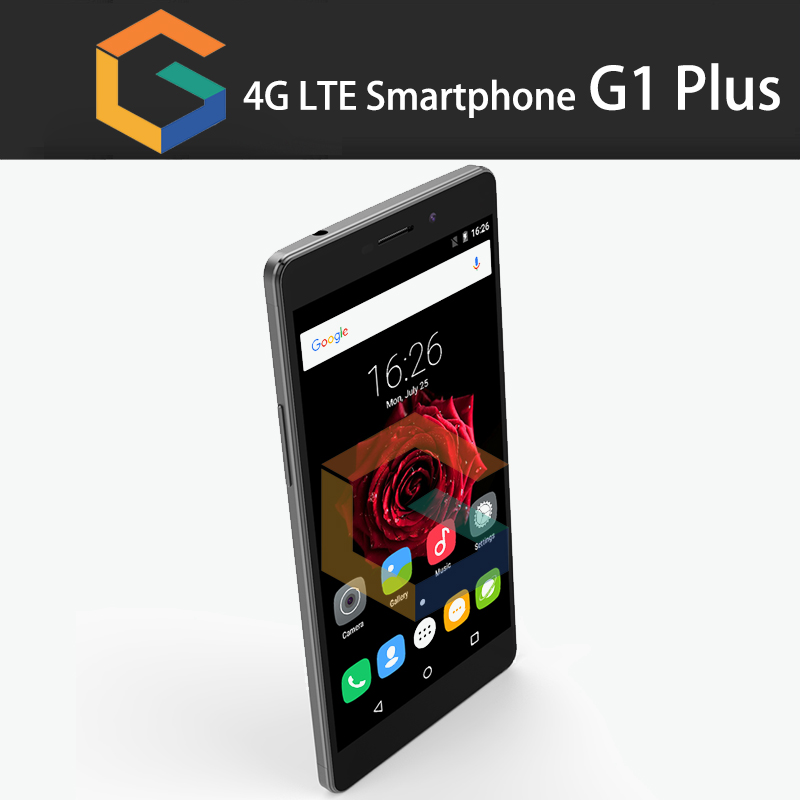 "GST High-end G1 plus OEM smart phone 2.5D Corning 6.0"" screen Fingerprint smart phone"
