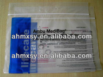 LDPE zipper bag