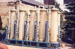 Anion Exchanger water treatment system Language Option French