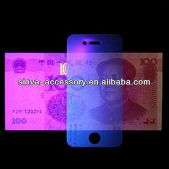 Factory Supply 100% Anti-UV Anti-blue light Screen Film for mobile phones and tablets
