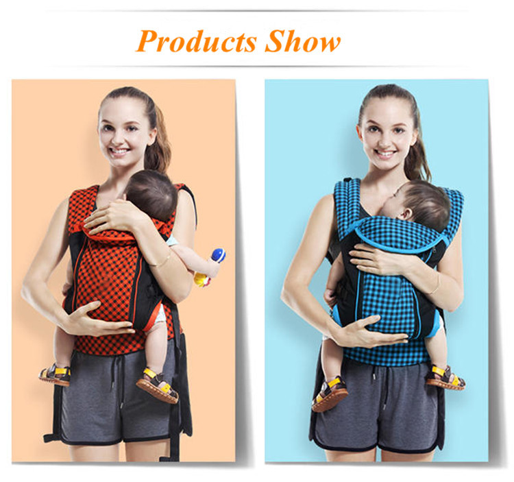 Baby products 2017 wholesale classical relax cool bag multifunctional kangaroo baby carrier