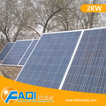 2KW Off Grid Solar Power System, Solar Kit System for Portable Generator System (FD-OFF/PSS-2KW)