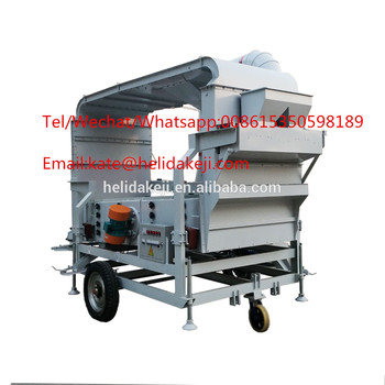 8 Tons per Hour Rapeseed Seed Double Air cleaning Machine