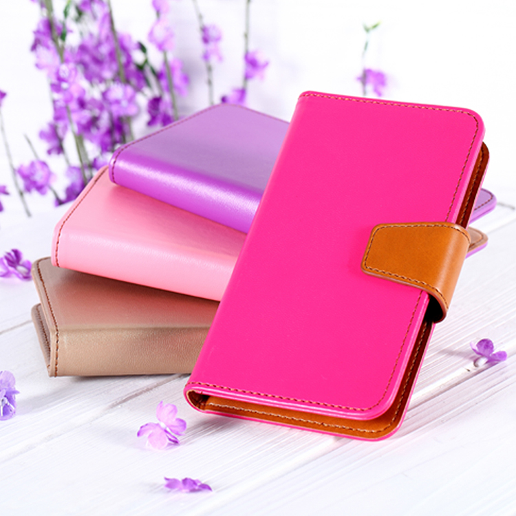 Flexible price hoco leather case for iphone