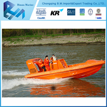Marine Supplies High Speed CCS Aluminum Used Rescue Boat For Sale