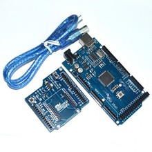 New and Original! Mega 2560 R3 REV3 ATmega2560-16AU with usb cable + Xbee Bluetooth Expansion shield V03 bee