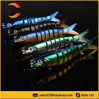 segmented lure for fishing,8-section fishing lure without tail,new fishing lures for sell