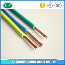 Copper Conductor Electrical Wires Cables PVC Jacket Wire