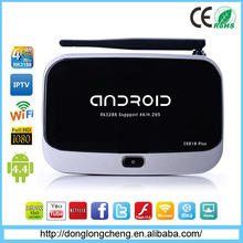 2015 CS918 Plus Android TV Box RK3288 quad core wifi Full HD Android 4.4 Media Player Support MicroSD(TF) ,Up to 32GB
