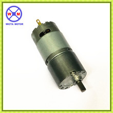High quality 30mm diam gearbox miniature 12v 6v dc gearmotor for money-counting machine