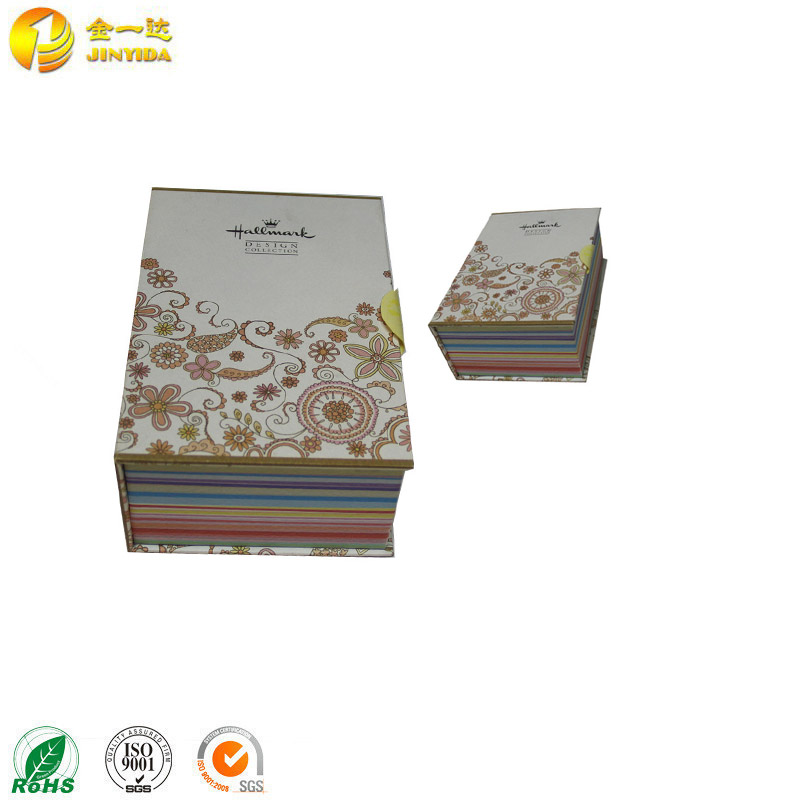 JINYIDA most popular luxury 4c Offset Printing paper packaging gift box