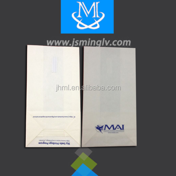 disposable airplane paper sick bag in cheap price