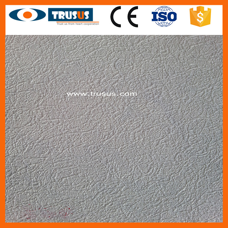 595*595*7Mm Designs For Office Restaurant Hot-Sale Decorative Gypsum Board False Ceiling
