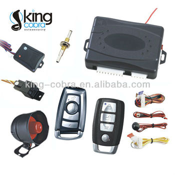 One way vision car alarm system for Iran market