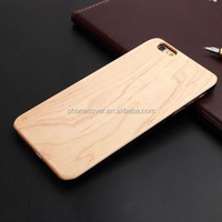 Latest new! OEM/ODM Custom brand carve wood hard phone case for iPhone SE