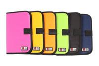 Wholesale Alibaba China BUBM 6 Colors 32 Discs CD Nylon Storage Case,ShenZhen CD DVD Bag Car Disc Case