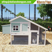 Large Wood Chicken Coop Backyard Hen House