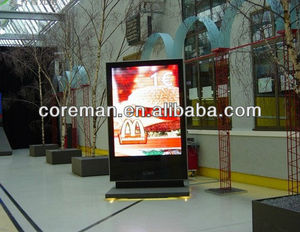 indoor airport led display board p4 indoor full color led color led sign / smd 3 in 1 led signs