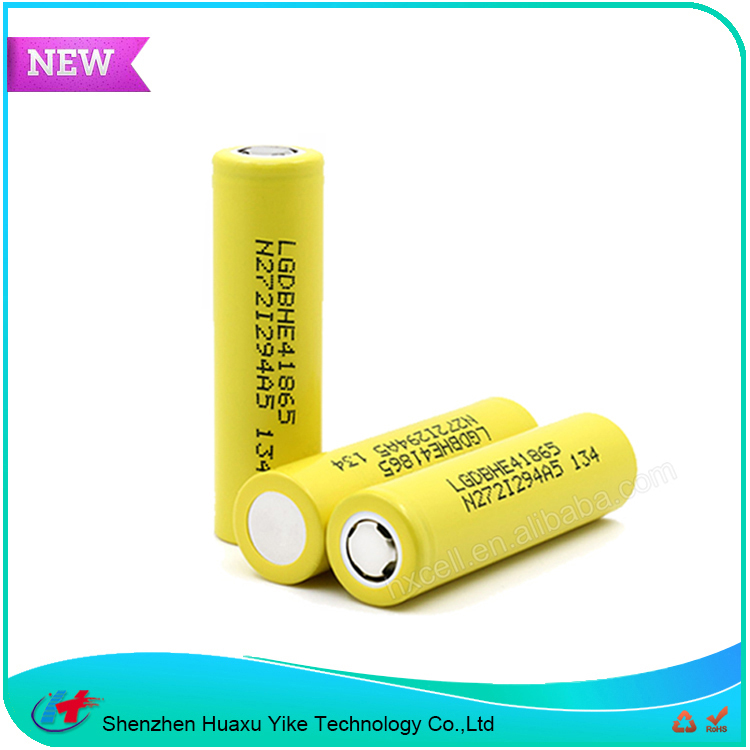 Wholesale LG HE4 2500mah 35Amp Electric Cigarette Lithium Battery 18650