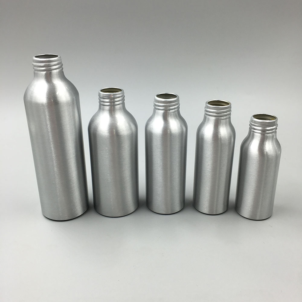 50ml 60ml 100ml 160ml 200ml 280ml 400ml Aluminum bottle for cosmetic packaging