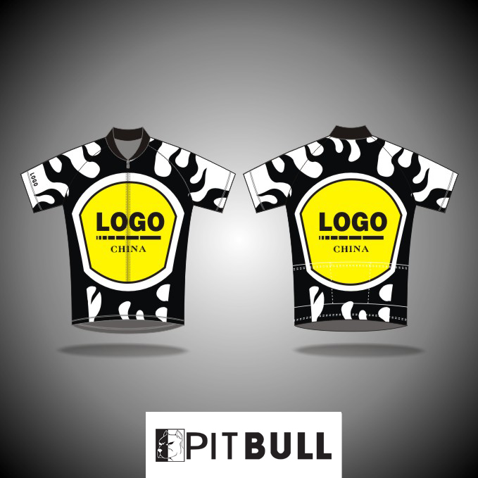 High quality short sleeve breathable adult cycling jersey