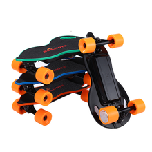 OEM Mini kids sport power boosted Electric Skateboard remote control fitness factory