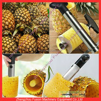 HOT SALE pineapple peel and core remove machine/pineapple eye remover knife