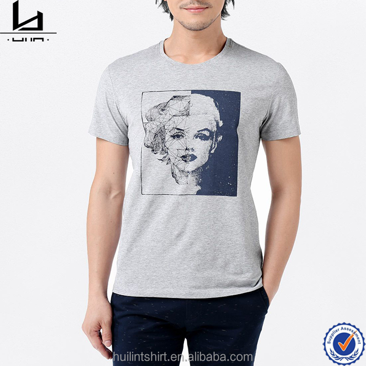 Tee shirt customization hip pop clothing for men photo transfer machine music t-shirt