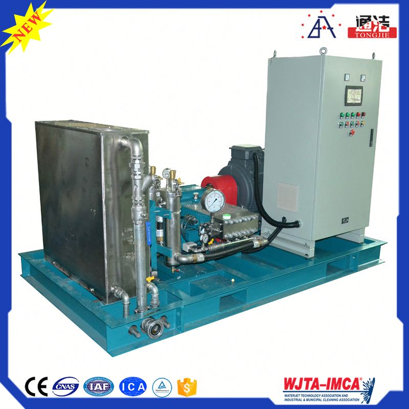 Pneumatic Control Water Jet Cleaning Machine Cleaning Of Larger Industrial Ventilation Systems
