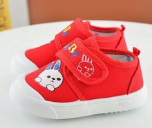 Cheap buckle soft sole fashion cotton baby active canvas shoes