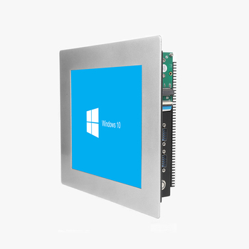 Aluminium alloy 10.4 10 inch panel mount industrial touch screen panel pc 1024*768