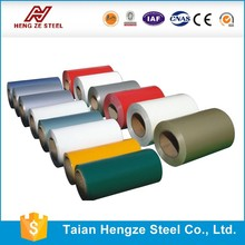 prepainted galvanized steel coil/ppgi sheet manfacture 1250 mm width with color zinc 40 From Shandong Factory directly sale