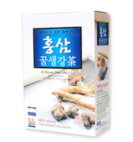 Red Ginseng Honey Ginger Tea [32g x 12]