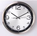 "Metal Wall Clock with 12"" Diameter(HA-1026)"