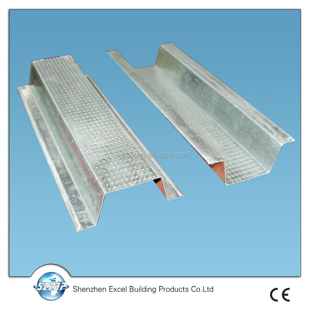 galvanized omega hat section/steel t section sizes/galvanized steel sections
