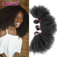 YVONNE Hot Products Afro Hair Extensions Afro Kinky Human Hair For Braiding