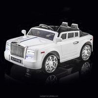 White Rolls Royce Phantom Style Luxury Kid's Ride On Toy Battery Powered Remote Control w/FREE MP3 Player ride on car