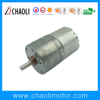 3v 6v gear motor CL-G25-RF310 for safety box storage box chaoli