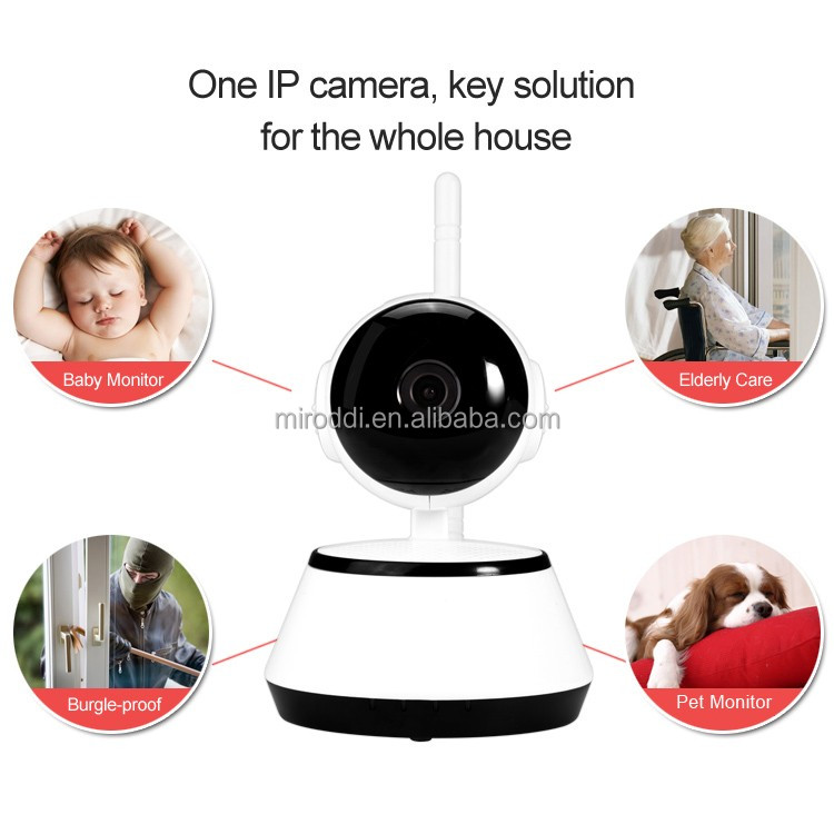 Hot sell 720P HD wireless wifi CCTV smart home security cameras & survillance products
