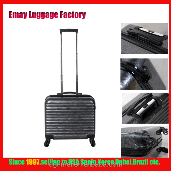 2016 PC luggage bags customized travel trolley Laptop sky travel luggage