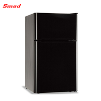92L Household Mini Double Door Refrigerator With UL Cert For Home Use