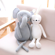 Daisy China Wholesale custom made stuffed plush animal toys grey elephant pillow