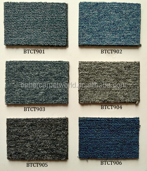good quality microfiber polyester carpet with smooth touching