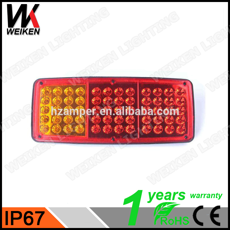 WEIKEN Scania Bus Price New Product Factory Cheap High Quality 12/24V LED Truck Tail Light Truck LED Tail For Heavy Duty Truck