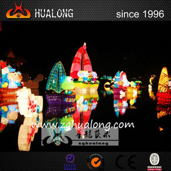 Popular cartoon character decoration for celebration lantern exhibition