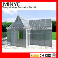 Aluminium portable garden glass sun rooms manufacturer made in china