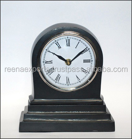 MINI metal clock ~ kids table mini clock ~ table clock insert