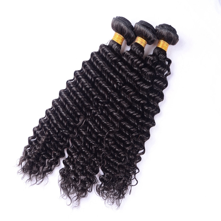 2017 promotion wholesale short curly brazilian hair extensions, full cuticle double drawn
