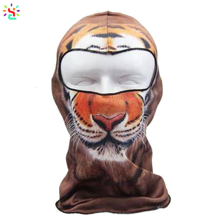Custom print balaclava animal balaclava winter ski face mask 3d printed face mask custom balaclavas